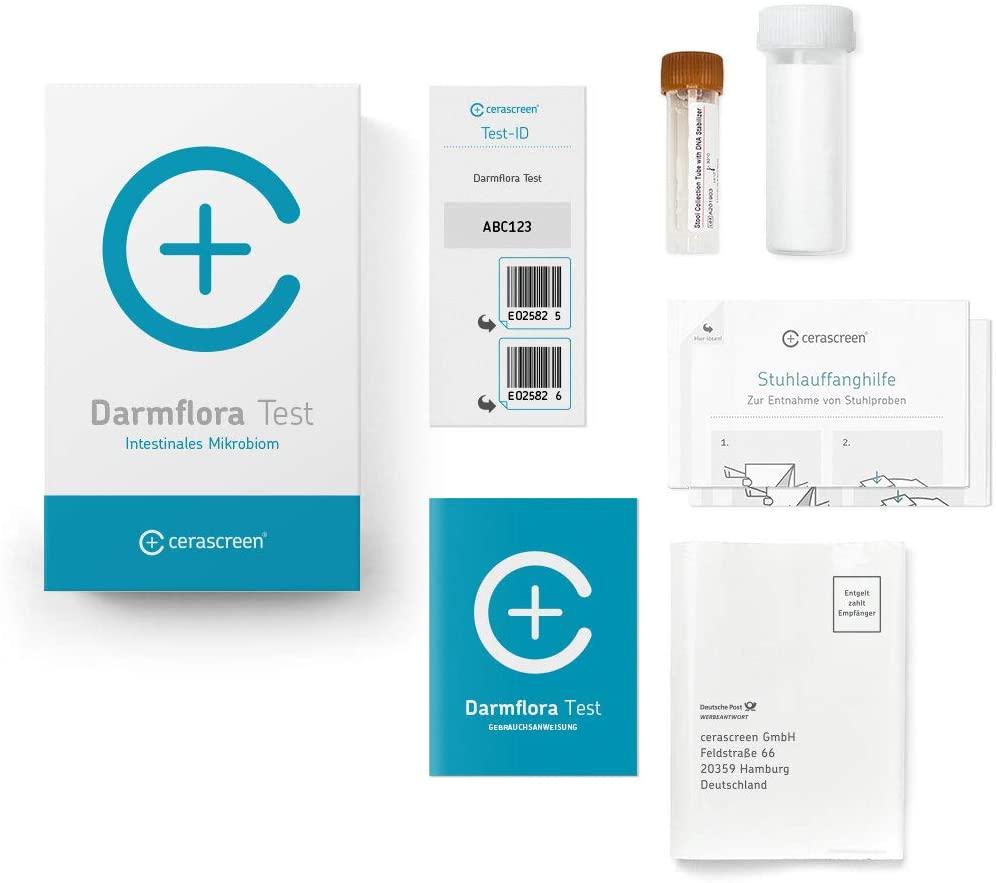Casida Vitamin Darmflora Test für Zuhause PZN 16401391 Apotheke 2