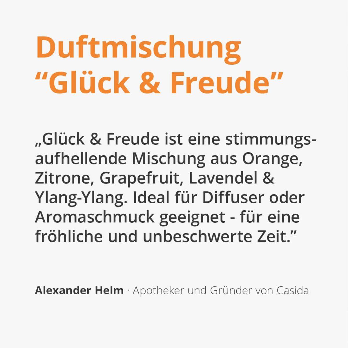 Casida Delightment Aroma-Blend Glück & Freude - 5 ml 17377217 PZN Apotheke aufheiternd gute laune Aromatherapie Aromapflege Aromaschmuck Diffuser2