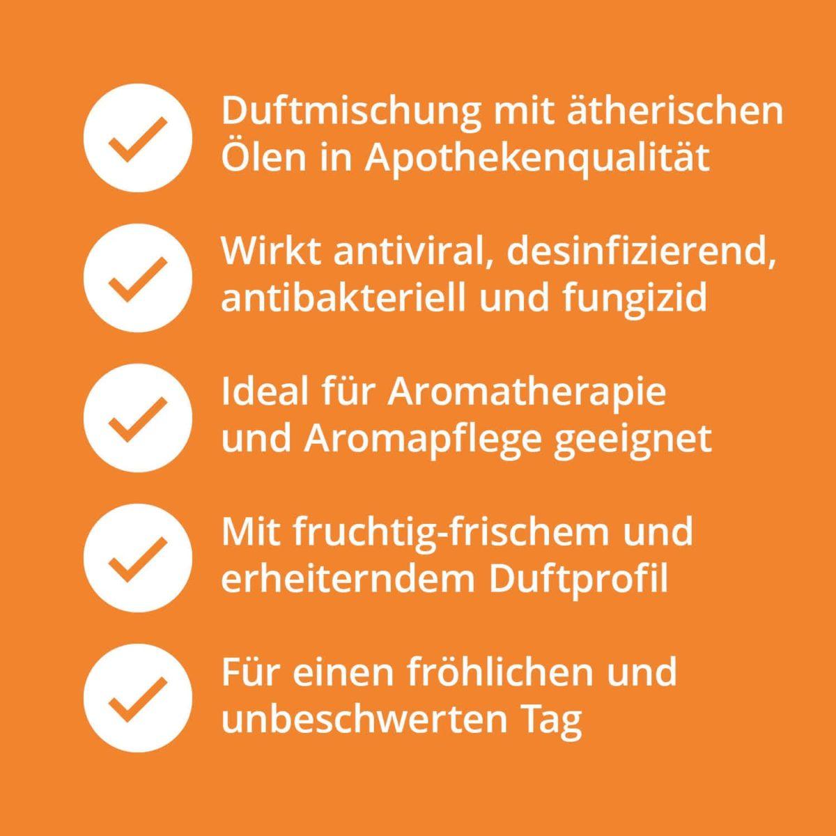 Casida Delightment Aroma-Blend Glück & Freude - 5 ml 17377217 PZN Apotheke aufheiternd gute laune Aromatherapie Aromapflege Aromaschmuck Diffuser7