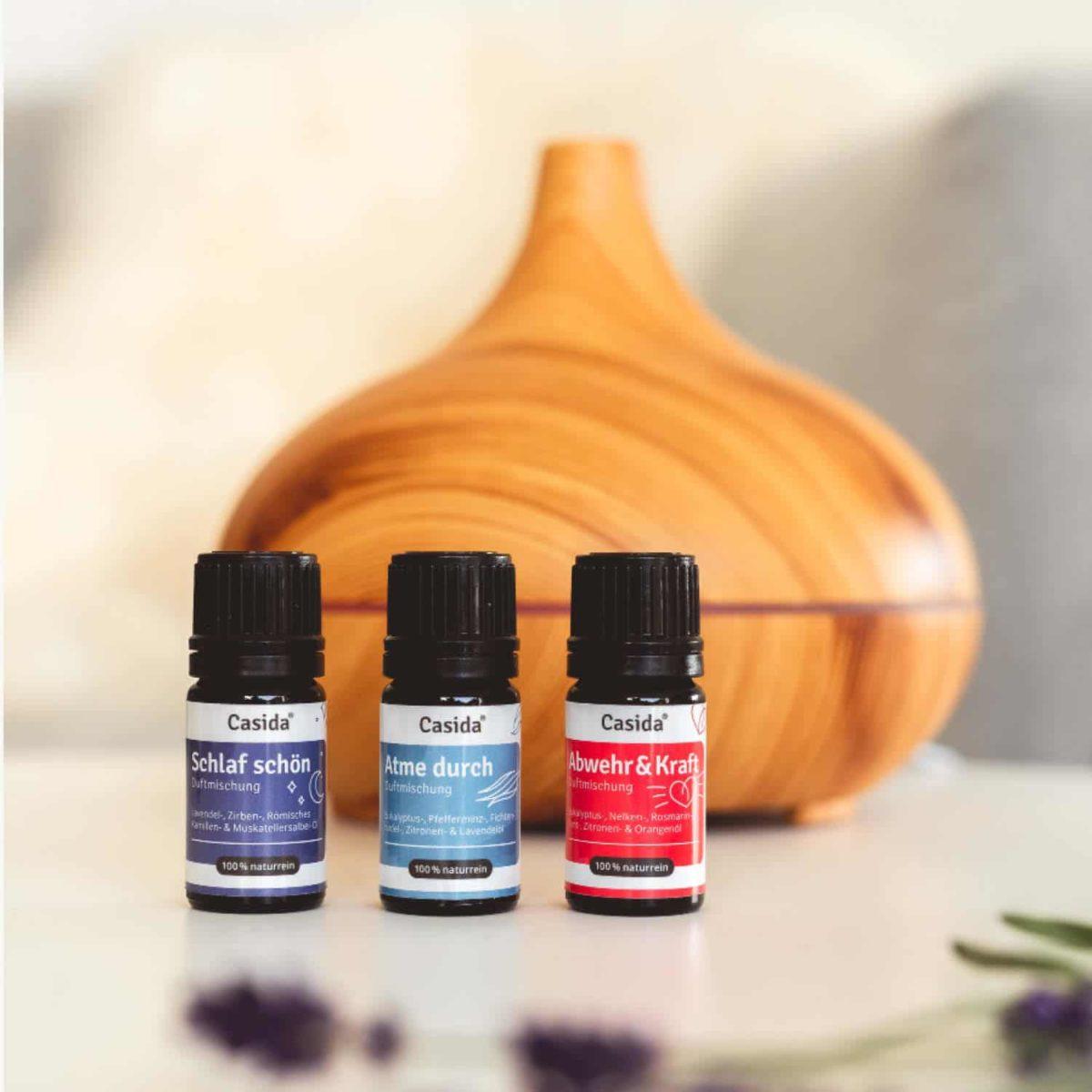 Casida Duftmischung Klare Gedanken - 5 ml 17394500 PZN Apotheke Fokussierung Aromatherapie Aromapflege Aromaschmuck Diffuser8