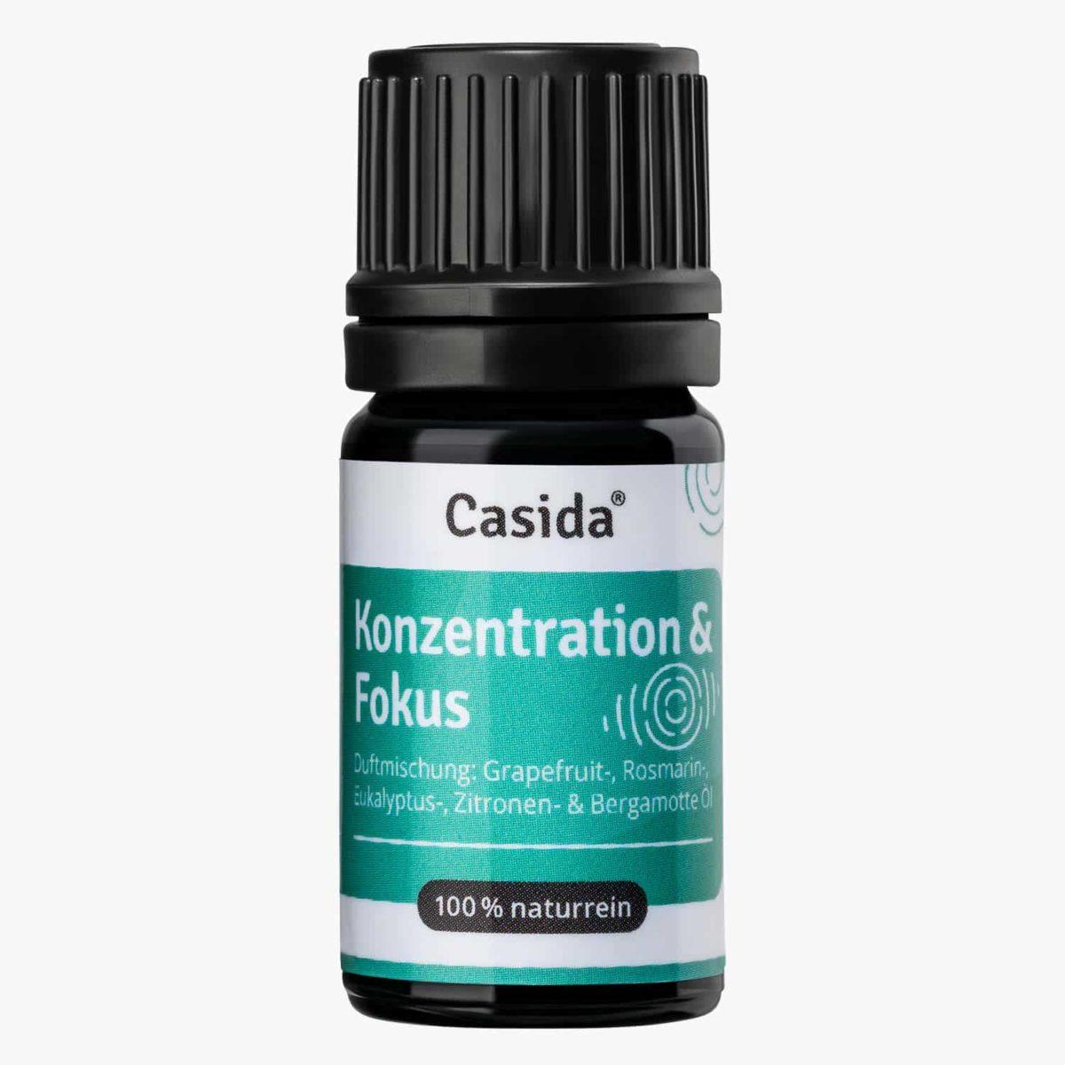 Casida Focusing Aroma-Blend Konzentration & Fokus - 5 ml 17377200 PZN Apotheke Energie Gedächtnis Aromatherapie Aromapflege Aromaschmuck Diffuser