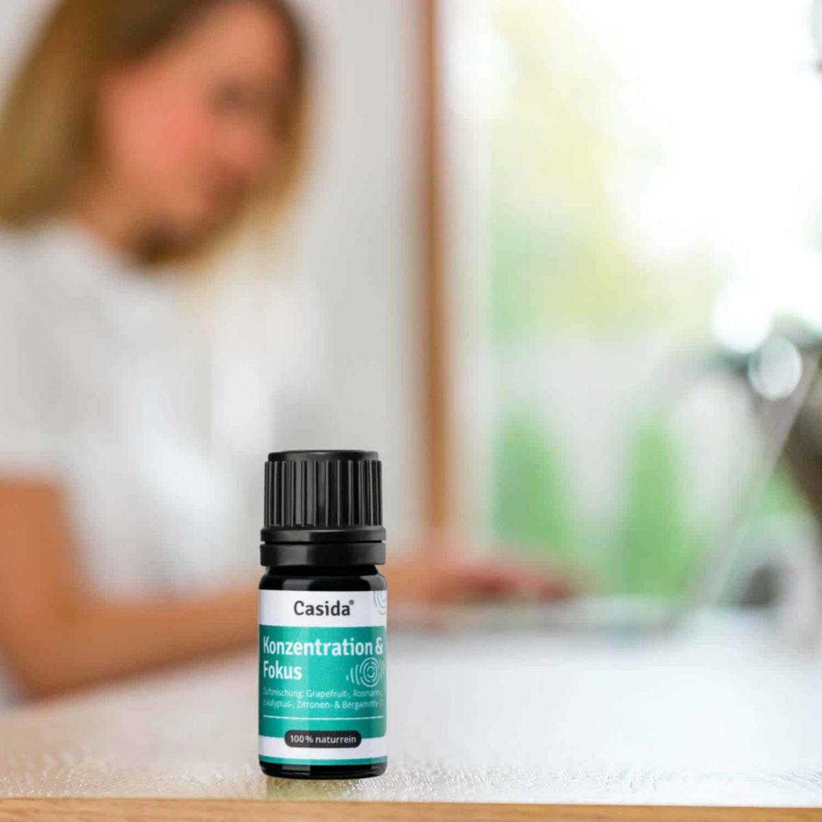 Casida Focusing Aroma-Blend Konzentration & Fokus - 5 ml 17377200 PZN Apotheke Energie Gedächtnis Aromatherapie Aromapflege Aromaschmuck Diffuser3