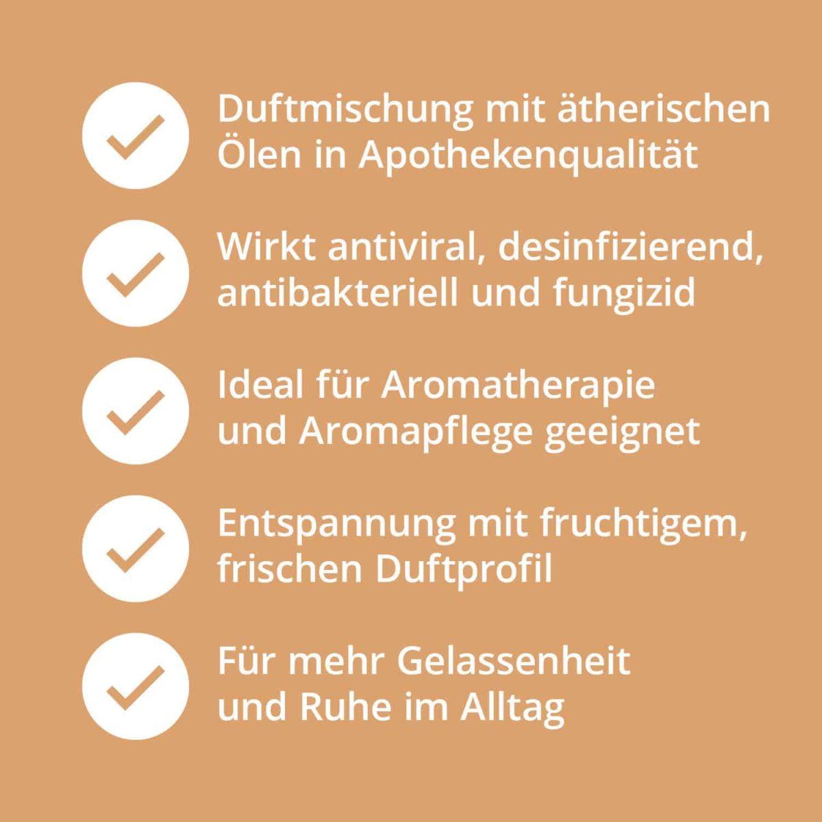 Casida Duftmischung Ruhe & Entspannung - 5 ml 17394517 PZN Apotheke Entspannung Aromatherapie Aromapflege Aromaschmuck Diffuser7