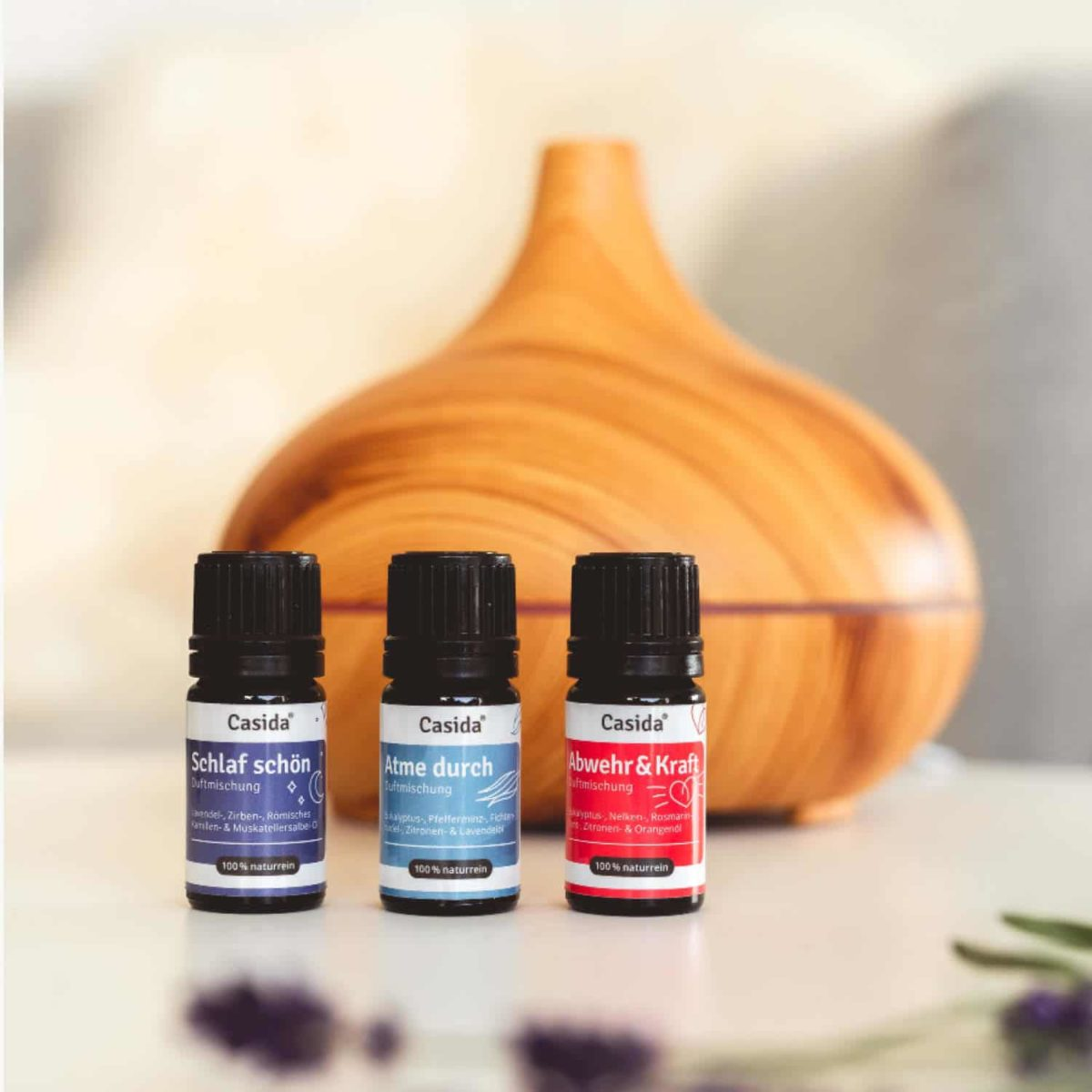 Casida Duftmischung Ruhe & Entspannung - 5 ml 17394517 PZN Apotheke Entspannung Aromatherapie Aromapflege Aromaschmuck Diffuser8