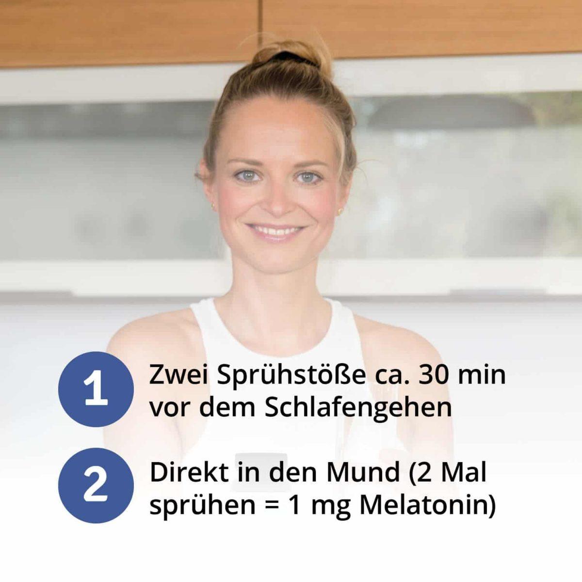 Casida Melatonin Spray Schlaf schön - 30 ml 17203782 Apotheke Guter Schlaf Gute Nacht besser schlafen Lavendel Vitamin B2 B66