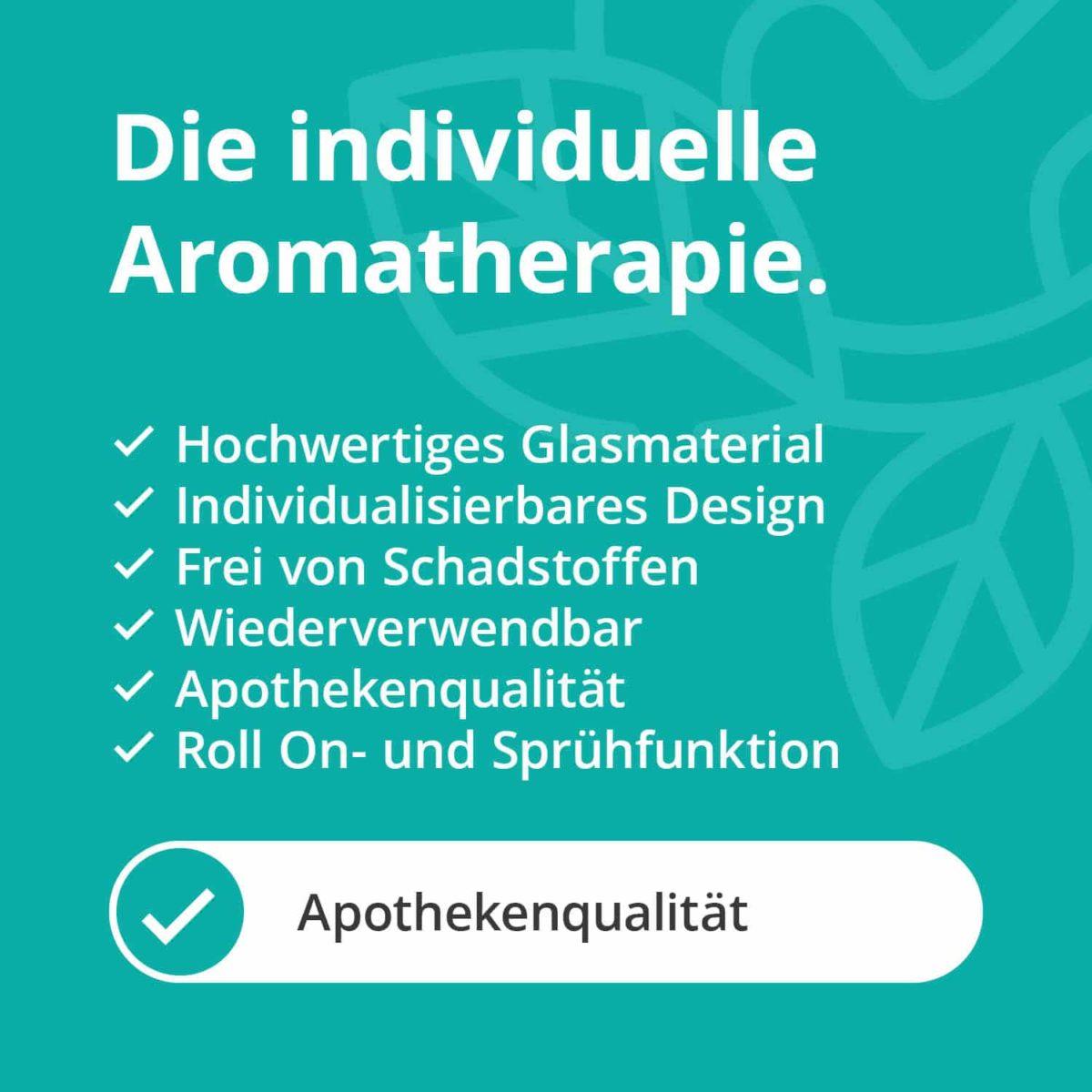 Casida Aromatherapie Profi Set A2058242 Roll On Sprühflasche 10 ml 20 ml 100 ml Tiegel Tropfflasche ätherische Öle Braunglas Blauglas5
