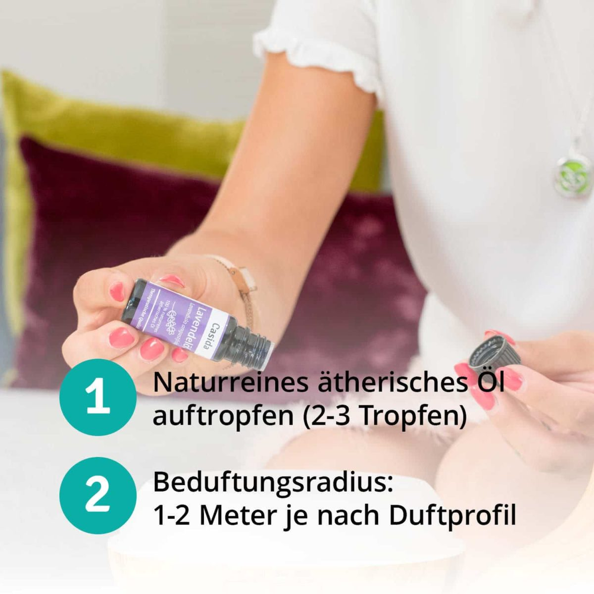 Casida Duftstein aus Keramik 1 Stk. 17439912 PZN Apotheke Aromatherapie Ätherische Öle Diffuser6