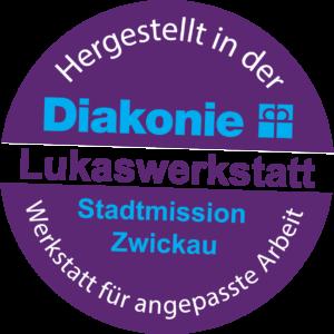 Logo Diakonie Grafik Duftstein Lukaswerkstatt Zwickau