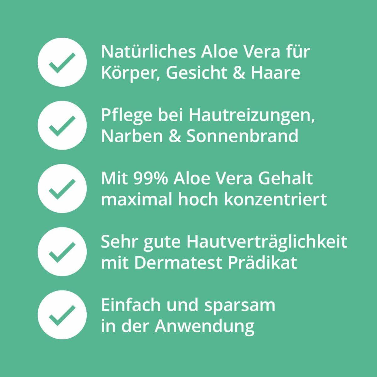 Set Aloe Vera Pflege-Set Gel Spray PZN 16573212 16813047 (7)