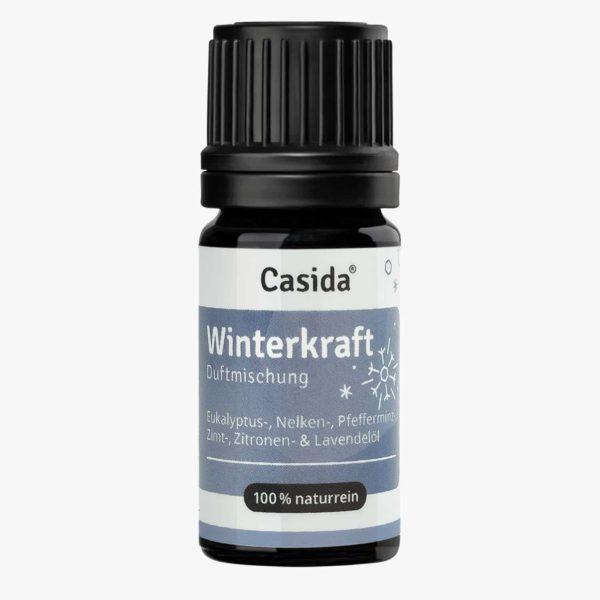 Casida Duftmischung Winterkraft - 5 ml Immunsystem stärkend Aromatherapie Aromapflege naturrein